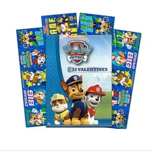 Paw Patrol 32 Valentines Day Cards 8 Pup Designs